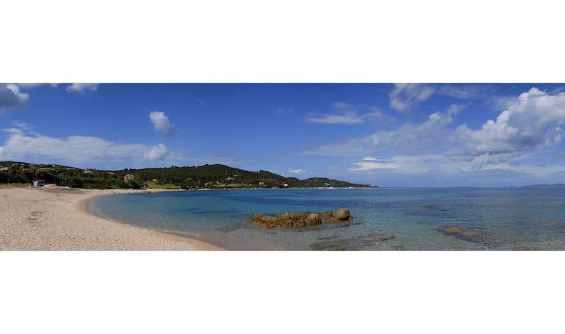 Rez-de-villa indépendant à 300m de la plage - Coti-Chiavari - Huis