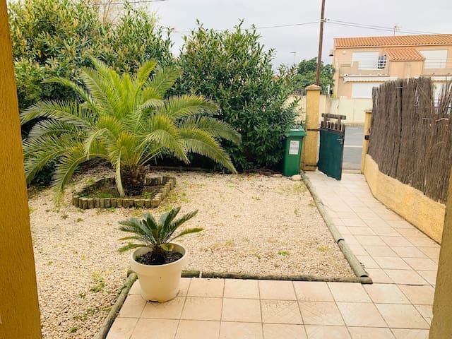 Appartement dans villa à Valras-Plage (70m2)