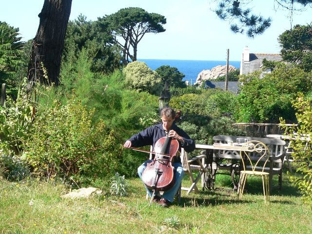 Mélodie dans le jardin