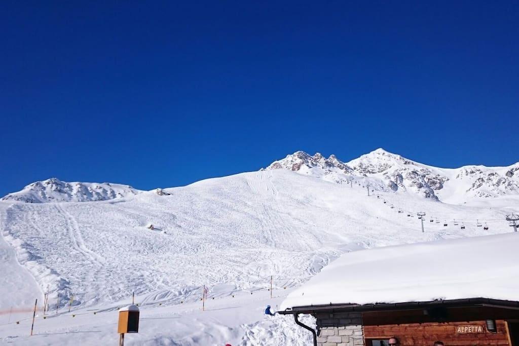 Berggebiet Motta Naluns
