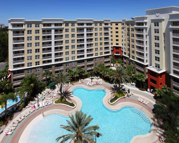 Vacation Village mobiliado ao lado Disney