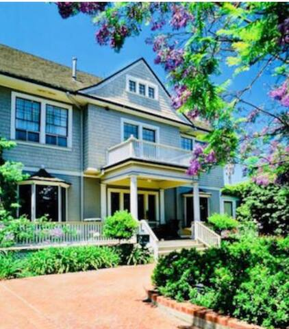 Charming 8bed/8ba De La Vina Inn- Dtwn SB w/VIEWS