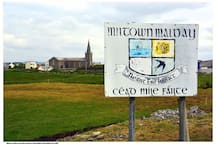 Cead Mile Failte to our Irish village on the wild atlantic way, home of traditional Irish music