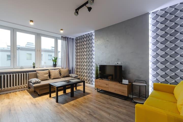 Modern Apartment | Upper Mokotów | NETFLIX
