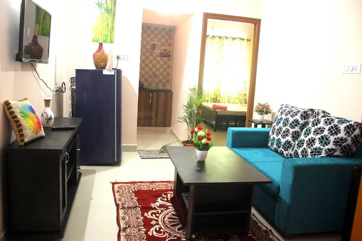 RashiBNK :Entire 1BHK flat in Bellandur
