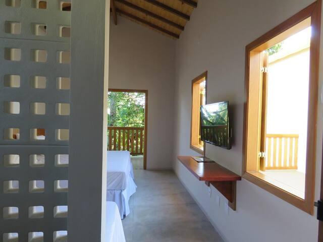 Hotel fazenda Lagoa Seca - Bangalô Duplo