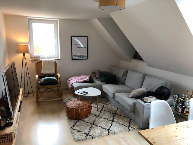 Gemütliche Dachgeschosswohnung in guter Lage