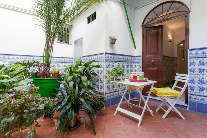 Lovely 1 bdr flat in Centre Triana with 2 bikes