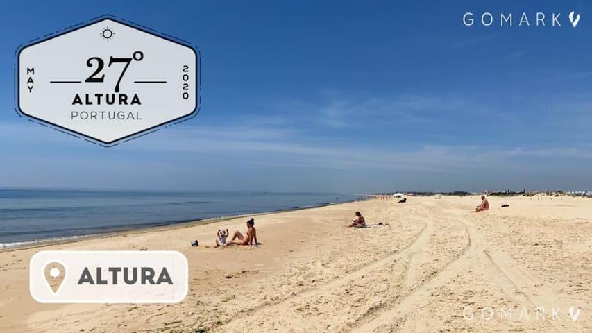 Altura Inn Terrace - Maio e Junho, Praia da Alagoa