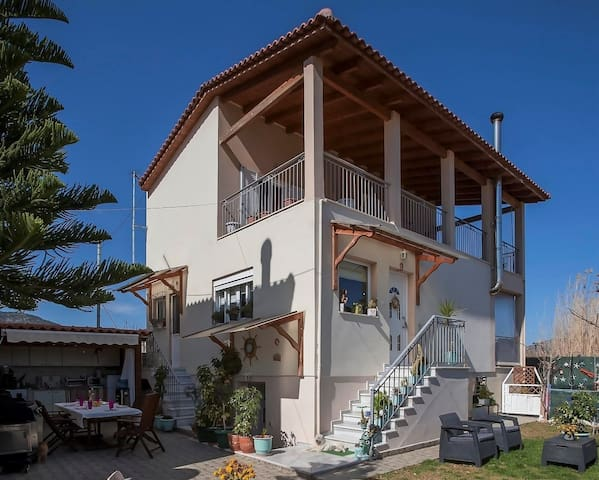 Villa A & L HOME 150m. from the beach. - Porto Rafti - Casa