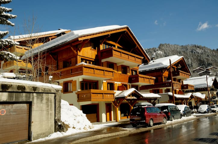 4 ppl apartment at Residence Les Aravis - Le Grand-Bornand - Apto. en complejo residencial