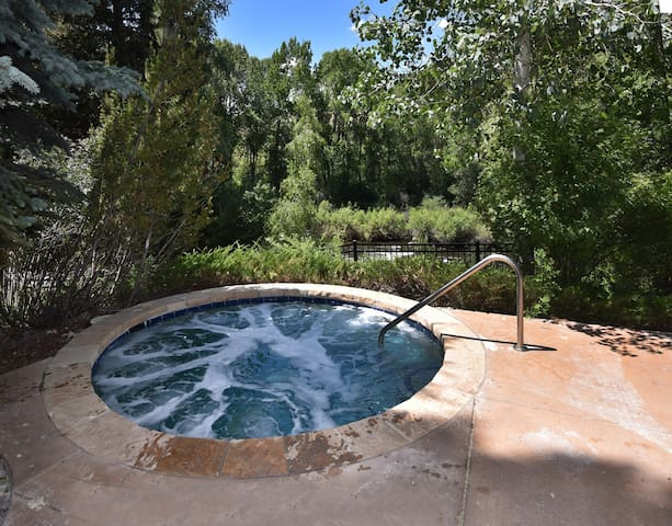 Luxurious Condo with Equipped Kitchen | Outdoor Hot Tub + Seasonal Pool Access