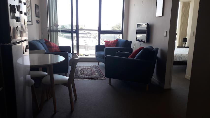 Secure apartment in central Rotorua.