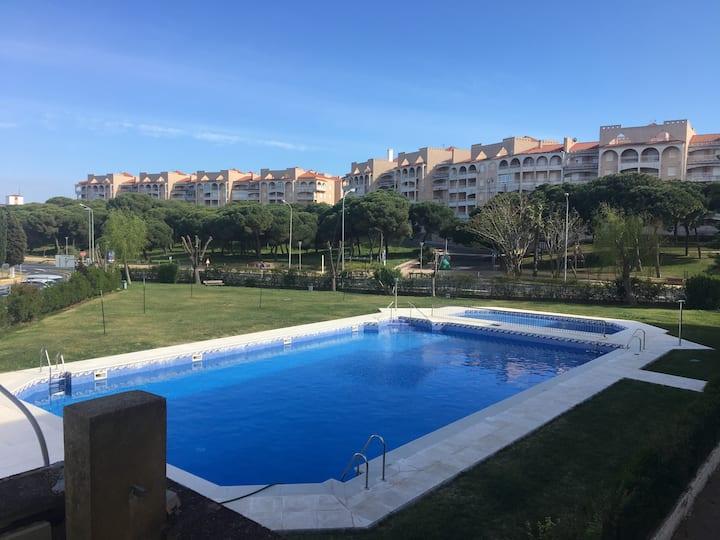 Apartamento próximo a la playa en El Portil