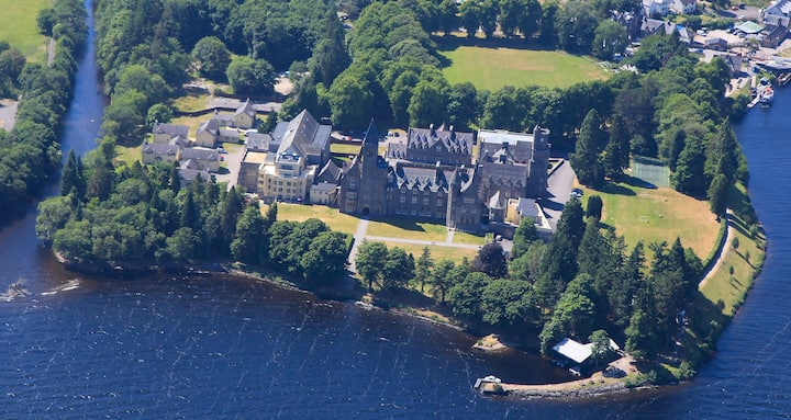 The Old Armoury, Highland Club on Loch Ness