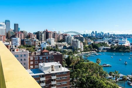 1 bedroom Apt - Potts Points Prime Location - Elizabeth Bay - Huoneisto