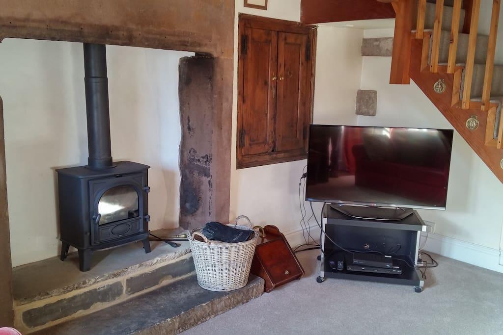 Clover Cottage, living room