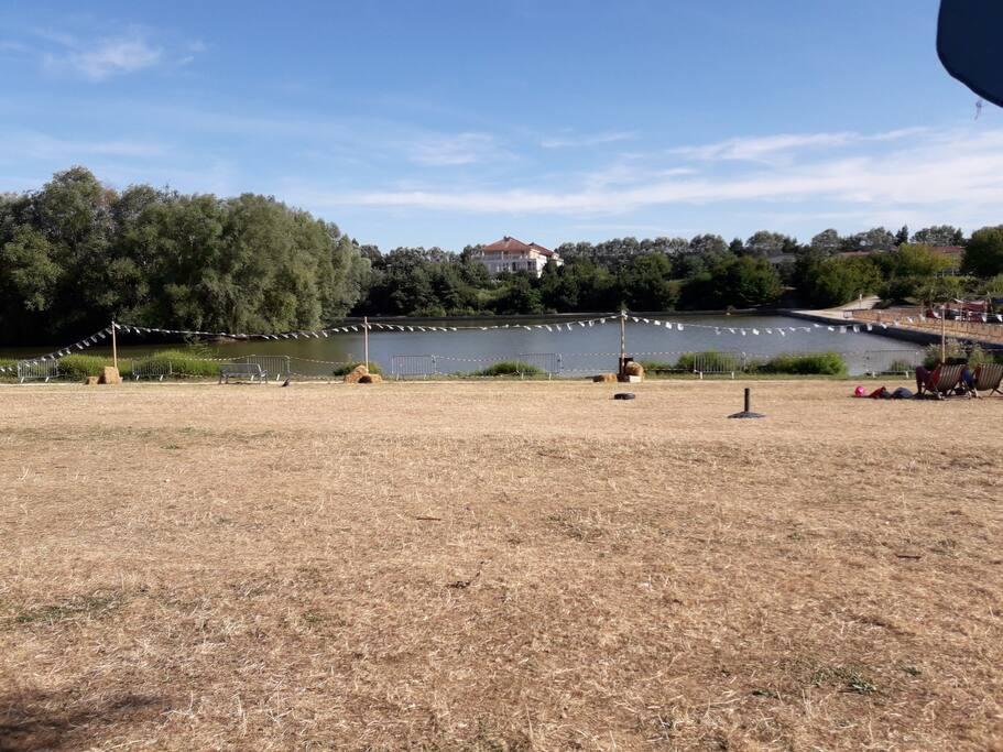 Petit lac à proximité