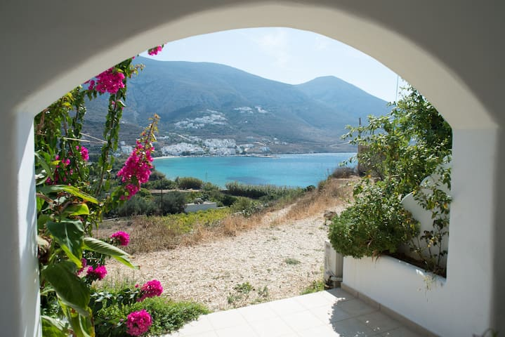 Amorgos, Double/ Twin Studio 1 - Aegiali - Appartement