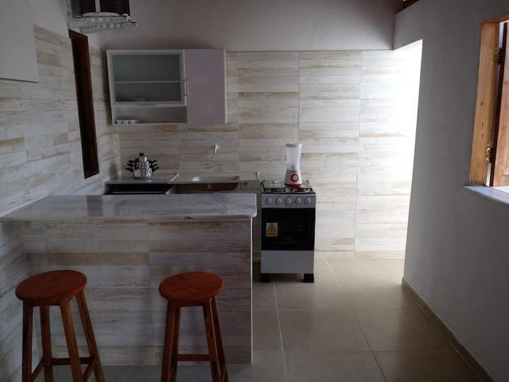 Apartamento na vila de Massarandupió