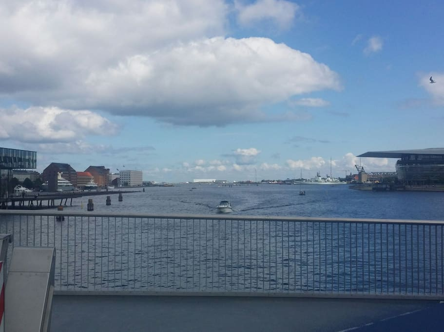 New Bridge from our little island to Nyhavn.