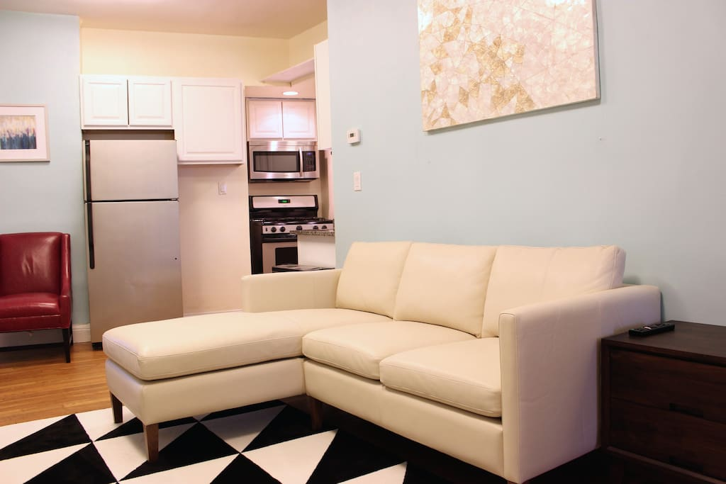 Luxurious sectional from Room and Board awaits you