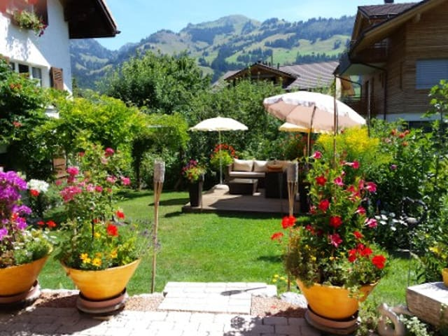 Gstaad: B&B or 3 room flat ZWEISIMMEN - Zweisimmen - Bed & Breakfast