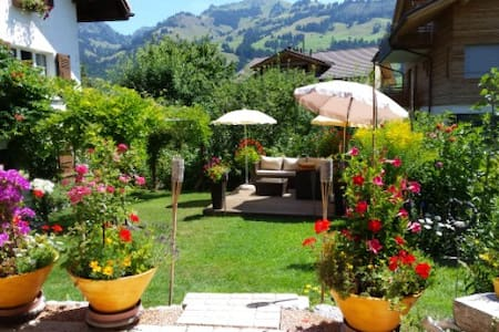 Gstaad:B&B or 3room apartZweisimmen - Bed & Breakfast