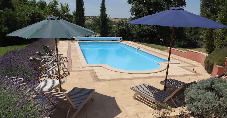 Luxury Farmhouse with private pool - Puylaurens - House