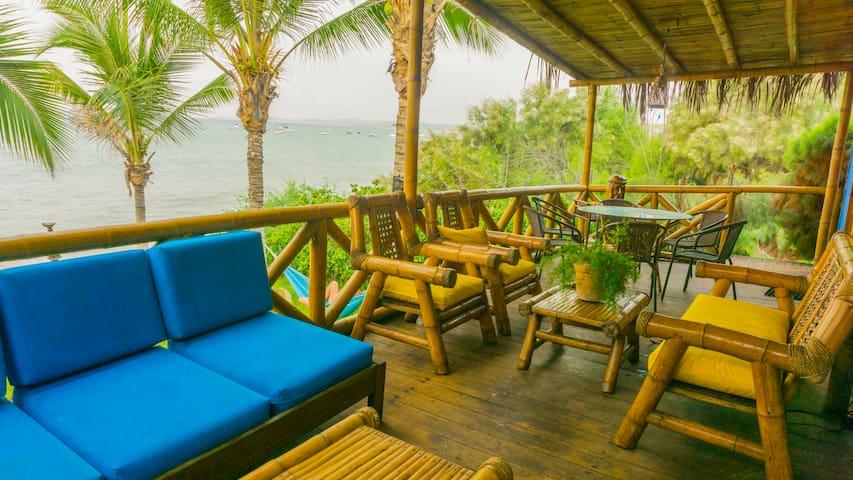 Bungalow Paradise . La Casita Azul - Máncora - Casa