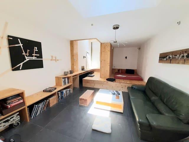 Appartement atypique, quartier Boutonnet