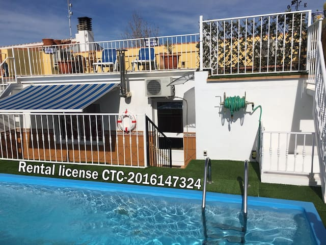 Rising Sol GH. Roof pool Apt.!  Algaidas, Malaga. - Villanueva de Algaidas - House
