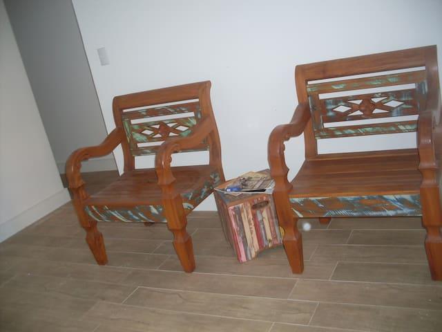 Rústic confortável Próx a Faculdade - Guarapari - Daire