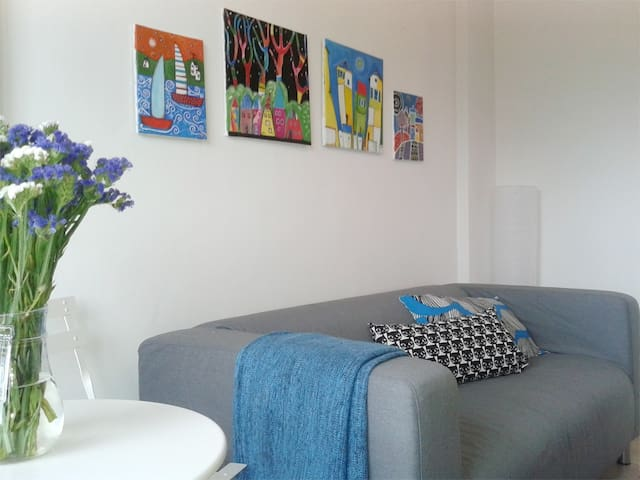 Colourful, 1 bd apt next to the Cyprus University - Aglantzia - Appartement