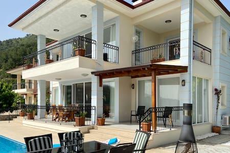 Stunning Villa with infinity pool in Uzumlu