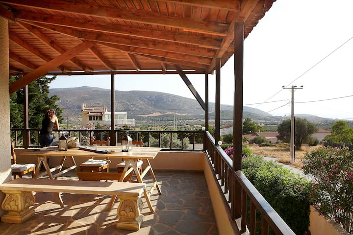 Relaxing country house with amazing view