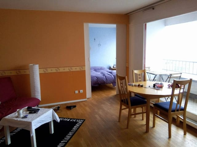 Appartment with balcony - fully furnished
