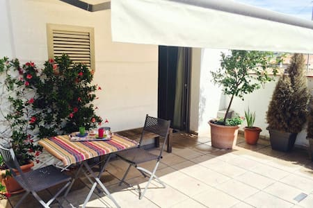 Wonderful rooftop in old town heart - Banyoles - Apartment