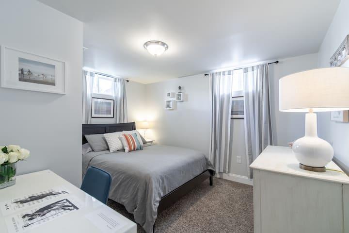 Bedroom with Desk for Your Denver Area Getaway