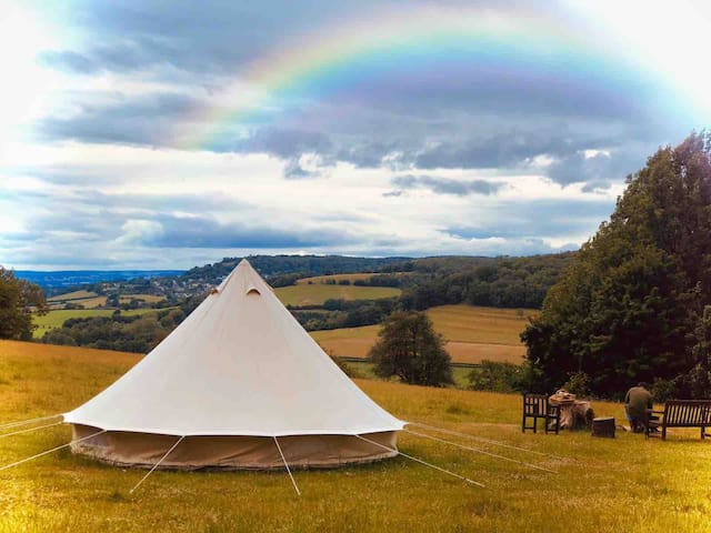 Glamping on the Cotswold Way #GlosGlamping 2