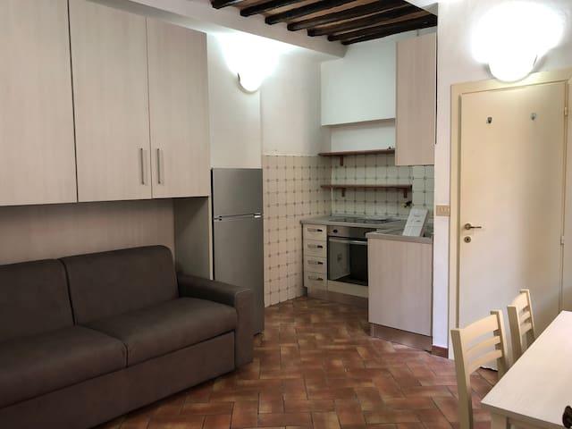 Small studio Apt Siena hist center