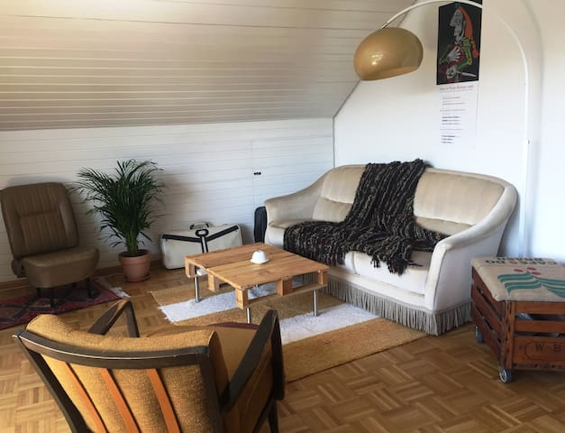Wunderschöne Dachgeschosswohnung