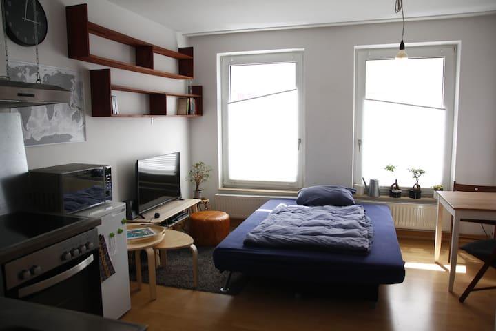 Nette kleine Wohnung in der Nähe vom Hbf