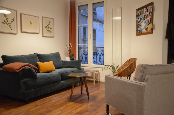 Well-renovated appartement for 4 travelers max.