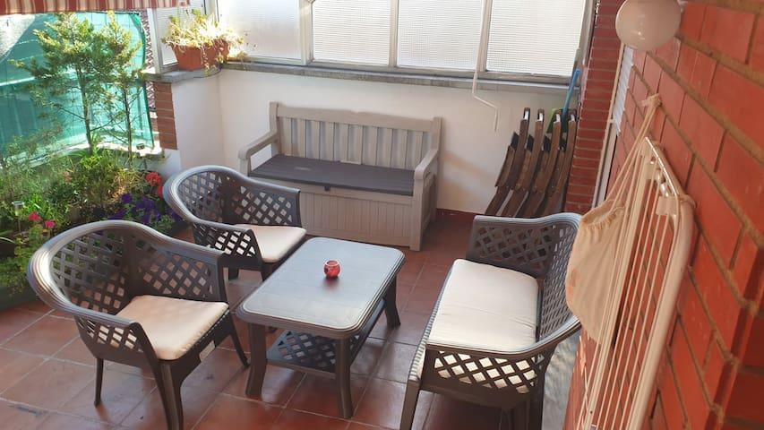 Apartamento con terraza céntrico en Oviedo