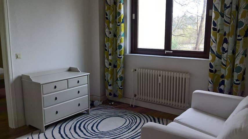 2 Zimmer im Grünen nahe der Elbe - Escheburg