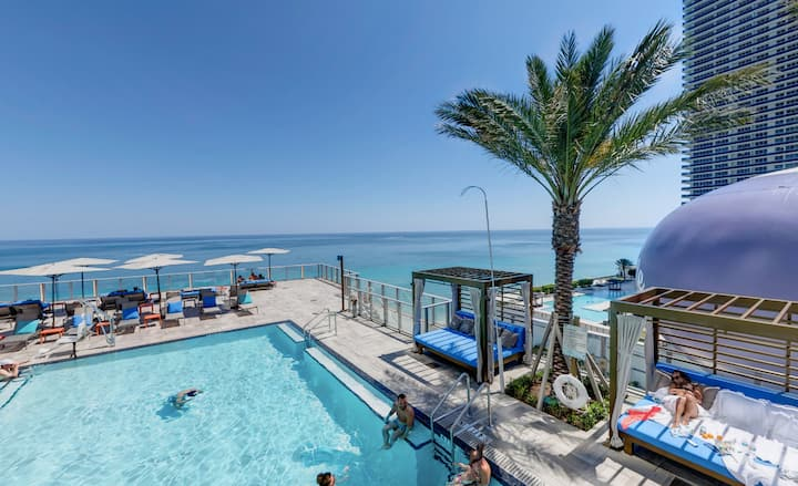 Luxury apt / Ocean view - Miami