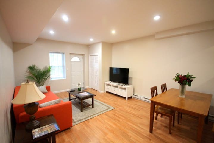 Charming Brand New 1 Bd Apt with Private Entrance
