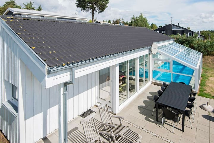 Swanky Holiday Home in Ebeltoft with Swimming Pool