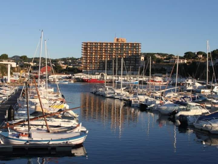Apartamento con vistas al mar en el puerto de Sant Feliu de Guíxols